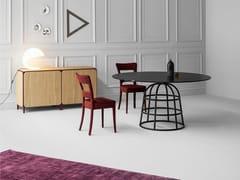 - Round crystal table MASS TABLE | Crystal table - Bonaldo