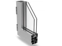 Finestra a battente a taglio termico in alluminioMATIC 62 PLUS - ALSISTEM