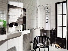 - Indoor wall/floor tiles MAXIMA BLACK & WHITE - TUBADZIN