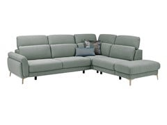 - Corner fabric sofa with headrest MEDA | Corner sofa - GAUTIER FRANCE