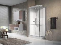 Box doccia multifunzione rettangolare con porta scorrevoleMEDIA 2.0 A100X70 - NOVELLINI