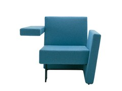 - Upholstered armchair with armrests MEET ME I880 - Segis