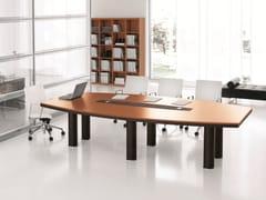 Tavolo da riunione con sistema passacaviEKO   Tavolo da riunione - ARCHIUTTI