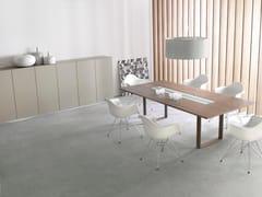 - Tavolo da riunione rettangolare con sistema passacavi MIXT | Tavolo da riunione con sistema passacavi - BALMA