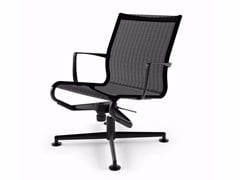 - Swivel task chair with 4-Spoke base with armrests MEETINGFRAME LOUNGE 52 - 435 - Alias