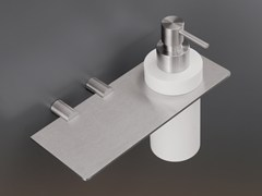 - Liquid soap dispenser / bathroom wall shelf MEN06 - Ceadesign S.r.l. s.u.