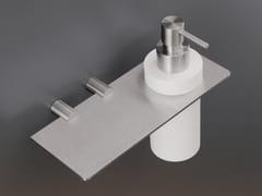 - Liquid soap dispenser / bathroom wall shelf MEN06 - Ceadesign S.r.l. s.u.