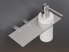 - Liquid soap dispenser / bathroom wall shelf MEN08 - Ceadesign S.r.l. s.u.