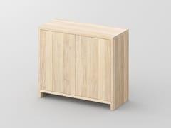 - Solid wood highboard with doors MENA | Highboard - vitamin design
