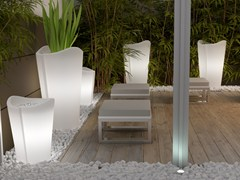 Vaso da giardino alto luminosoMERCUTIO - MOBIKA GARDEN