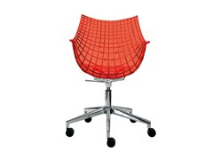 - Chair with casters MERIDIANA - Driade