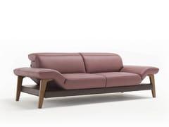 - 3 seater leather sofa MERIEM | 3 seater sofa - Egoitaliano