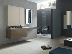 - Bathroom cabinet / vanity unit META - COMPOSITION 9 - Arcom