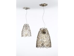 - Metal pendant lamp with Swarovski® Crystals CRYSTAL MARINE | Metal pendant lamp - IDL EXPORT