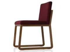 - Sled base fabric chair MIDORI | Chair - SANCAL