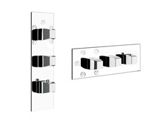 - 3 hole thermostatic shower mixer MIMI WELLNESS 43092 - Gessi
