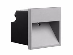 - Wall-mounted die cast aluminium foot- and walkover light MINIBOX - FLOS