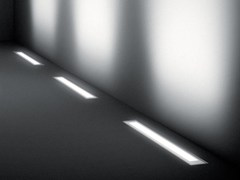 Segnapasso a LED a pavimento in alluminio estruso per esterniMINILINEAR - SIMES