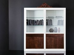 - Lacquered wooden display cabinet MINIMAL BAROQUE | Display cabinet - Modenese Gastone group
