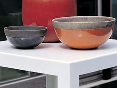 - Terracotta vase MINSK BOWL - Domani