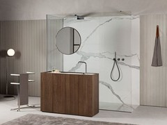 - Sectional floor-standing wooden vanity unit MODULO 30 | Wooden vanity unit - MAKRO