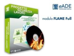 Software per la valutazione del rischio incendiomodulo FLAME Full - EPC