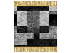 - Handmade rug MONO W5 SILVER - HENZEL STUDIO