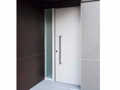 Porta d'ingresso blindata con pannelli in vetroMONOLITE - 15.1009 MNT6000 - BAUXT