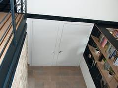 Porta d'ingresso blindata con cerniere a scomparsaMONOLITE - 15.1013 MNT6000 - BAUXT
