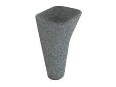 - Pedestal slate washbasin MONOLITE | Slate washbasin - GALASSIA