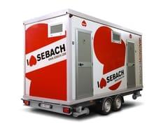 Bagno mobile monobloccoMONOVIP CLASSIC - SEBACH