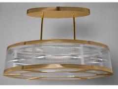 - Lampada a sospensione a luce diretta in ottone MONTREAL | Lampada a sospensione in ottone - Patinas Lighting