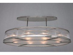 - Lampada a sospensione a luce diretta in nichel MONTREAL | Lampada a sospensione in nichel - Patinas Lighting