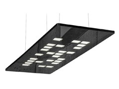 - LED plastic pendant lamp MOSAIC - FLASH DQ by LUG Light Factory
