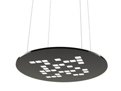 - LED plastic pendant lamp MOSAIC ROUND - FLASH DQ by LUG Light Factory
