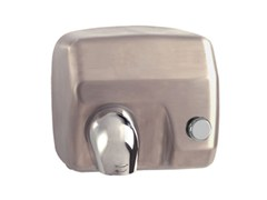 - Stainless steel Electric hand-dryer with push-button MP403 | Electric hand-dryer - Saniline by Thermomat