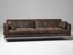 - 3 seater leather sofa MR JONES   3 seater sofa - ALIVAR