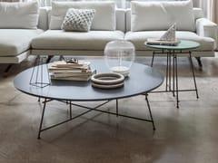 - Tavolino laccato ovale in legno MR ZHENG | Tavolino laccato - Lema