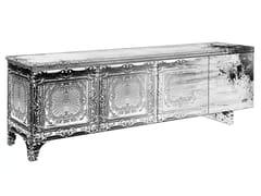 - Decapé glass-fibre sideboard with doors MS-02 - MOMENTI di Bagnai Matteo