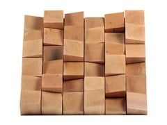 - Solid wood decorative acoustical panels MULTIFUSER WOOD 36 - Vicoustic by Exhibo