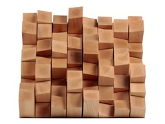 - MDF decorative acoustical panels MULTIFUSER WOOD 64 - Vicoustic by Exhibo