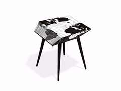- Beech wood and HPL coffee table MUNDI XL50 - Bazartherapy