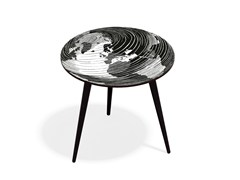 - Round beech wood and HPL coffee table MUNDO XL50 - Bazartherapy