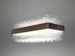 - Glass pendant lamp MY LAMP RECTANGULAR - Paolo Castelli