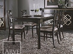 - Rectangular solid wood table NAIMA | Extending table - Arvestyle