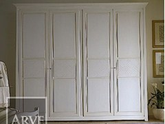 - Lacquered solid wood wardrobe NAIMA | Solid wood wardrobe - Arvestyle
