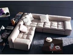 - Corner upholstered fabric sofa NAP | Corner sofa - arflex