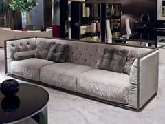 - Tufted 3 seater fabric sofa NAPOLEON | Sofa - Longhi