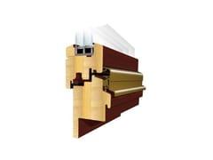 Finestra in legno con triplo vetroNATURO RENO 78 mm - EKO-OKNA