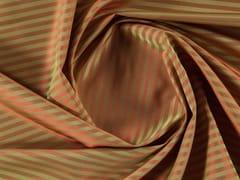 Tessuto a righe cangiante in poliestere per tendeNERO - MORE FABRICS